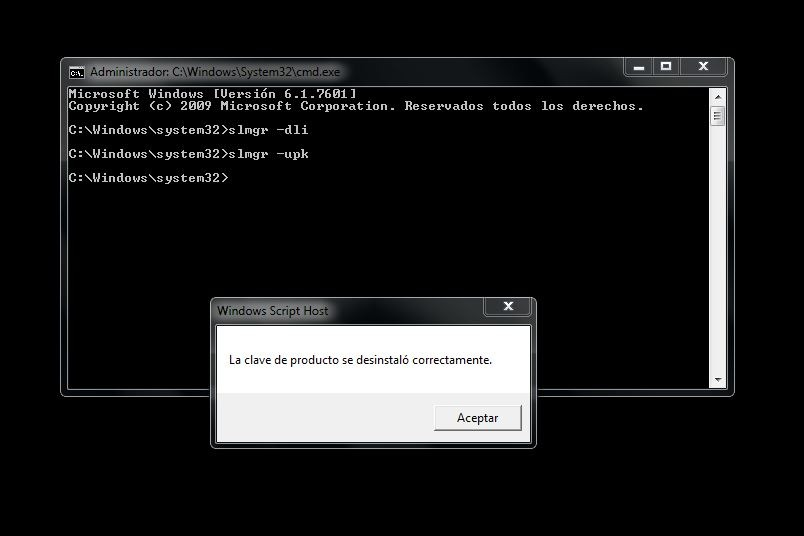 activar windows 7 clave