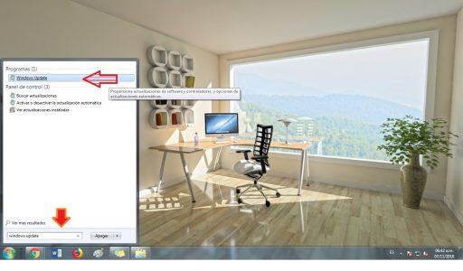 desactivar actualizaciones en windows 7