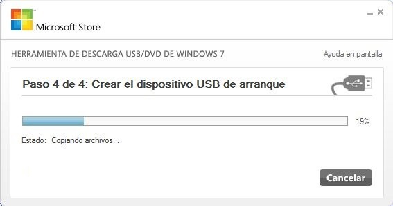 usb instalacion windows 7
