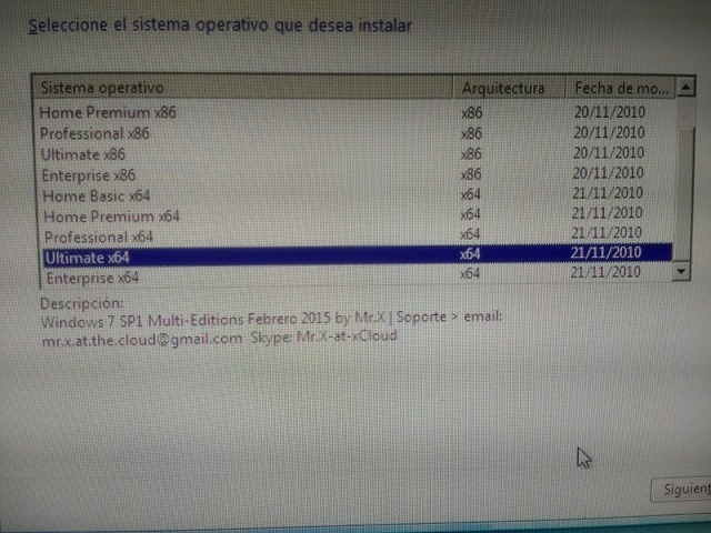 instalador windows 7 usb