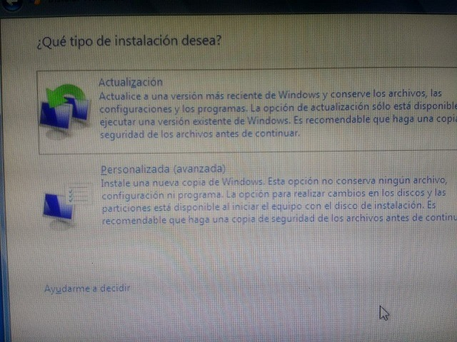 como instalo windows 7 desde usb
