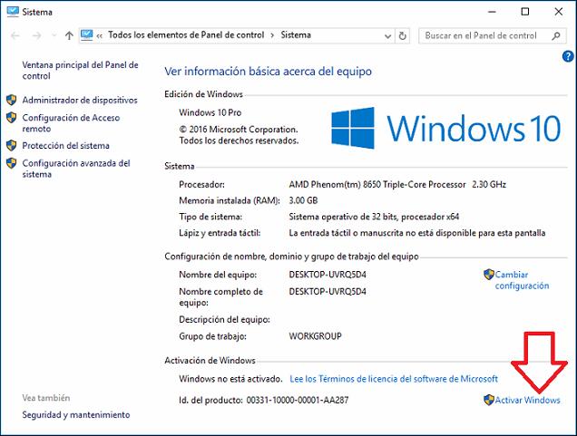 activador windows 10 gratis