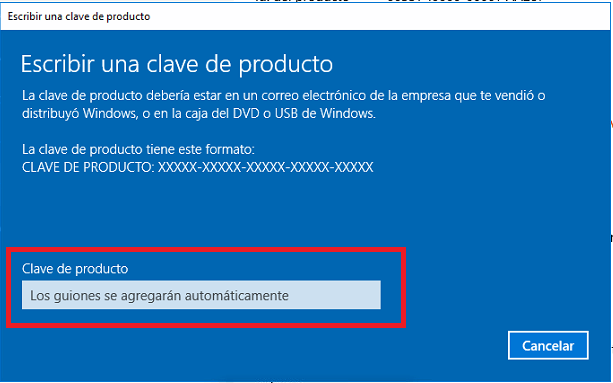 windows 10 home claves