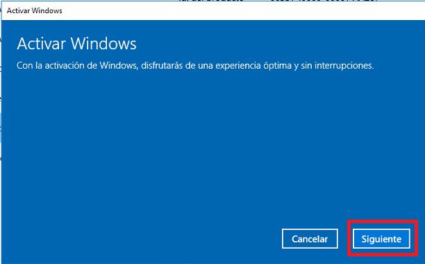 validar windows 10