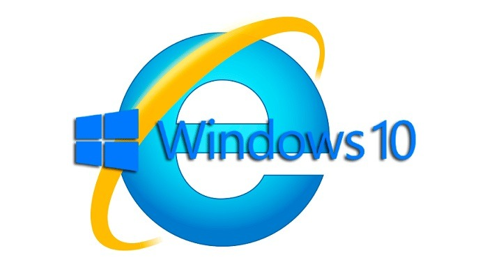 abrir internet explorer windows 10