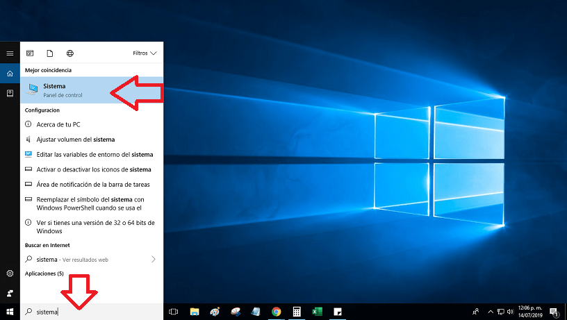 asignar memoria virtual windows 10