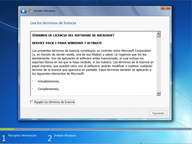 como instalar windows 7 desde cero