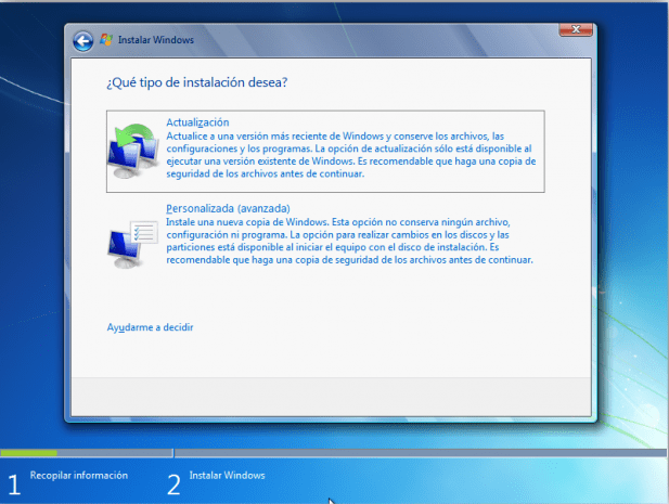 como instalar windows 7 professional
