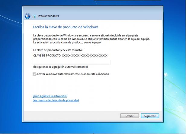 pasos para instalar el windows