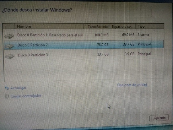 windows 7 desde usb