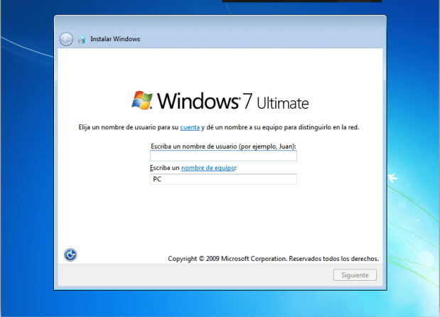 como instalar windows 7 sin errores
