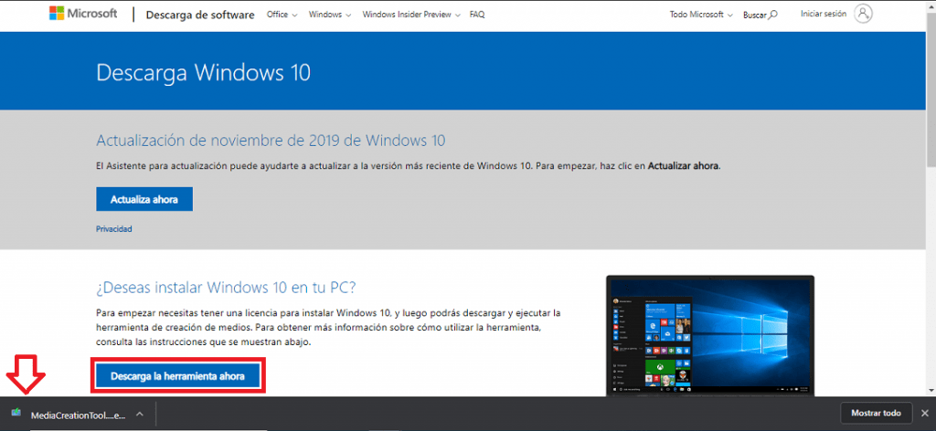 iso windows 10 32 bits