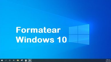 como formatear una pc con windows 10