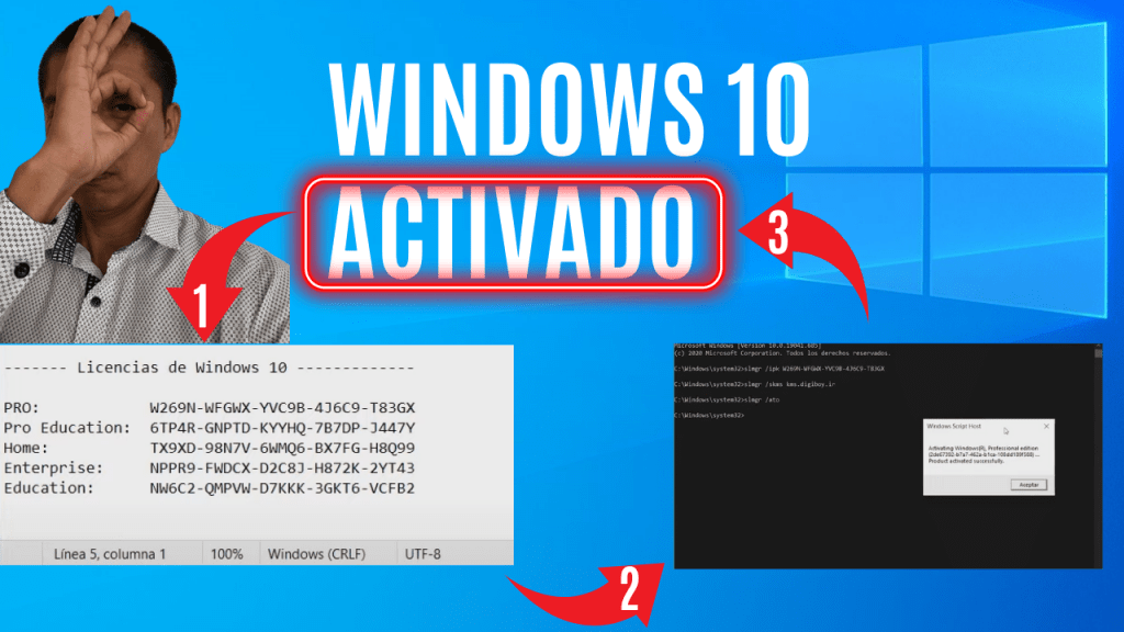 como activar windows 10 para siempre